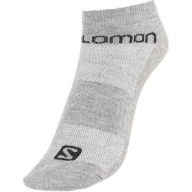 Salomon Life Low Socks 3 Pack grey/black